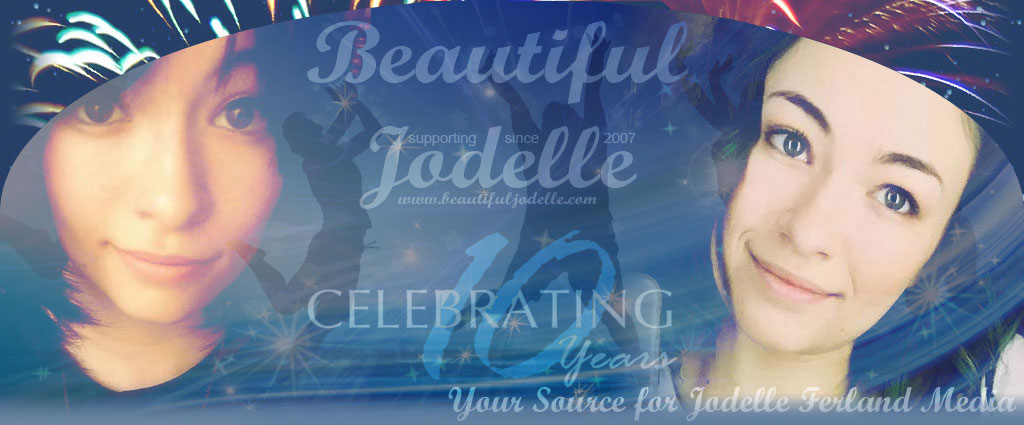 Beautiful Jodelle - Jodelle Ferland 2016 Christmas Banner