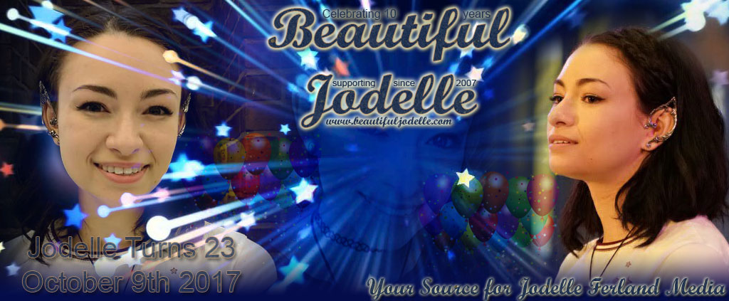 Beautiful Jodelle - Jodelle Ferland 2017 Birthday Banner